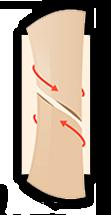 fractura hueso espiral
