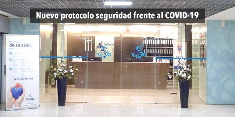 Protocolo de Seguridad frente a la COVID-19 implementado en nuestro Centro de Fisioterapia López Crespo